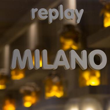 replay milano